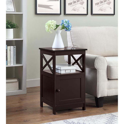 Oxford End Table with Cabinet - S20-308