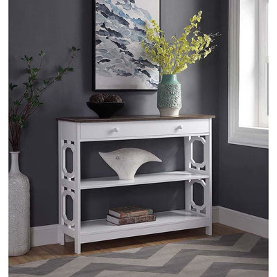 Omega 1 Drawer Console Table - S20-332