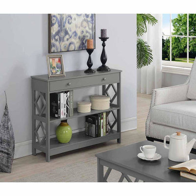 Diamond 1 Drawer Console Table - S25-124