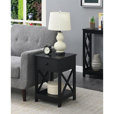 Oxford 1 Drawer End Table - S25-125