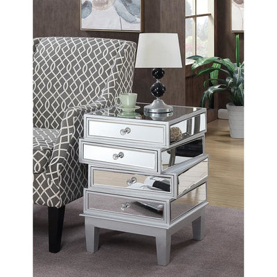 Gold Coast J Daniels End Table - U12-160