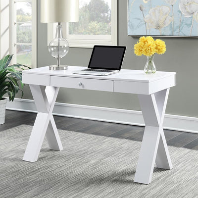 Newport Desk with Drawer - U14-142