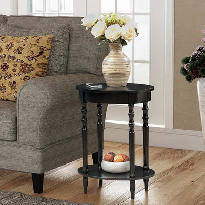 Classic Accents Brandi Oval End Table - V2-113