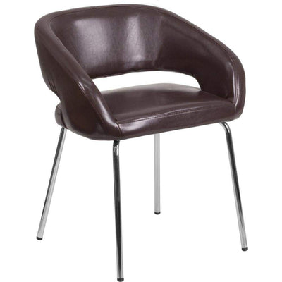 Fusion Brown Leather Chair