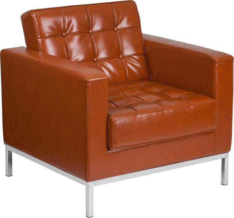 ZB-LACEY-831-2-CHAIR-COG-GG Cognac reception chair