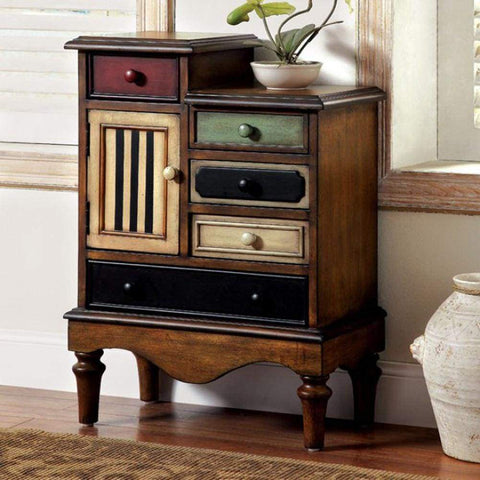TV Console with Multi-Purpose Storage in Black hue by Walker Edison