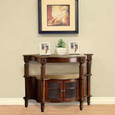 Southampton Antique Walnut Side Table By Casagear Home