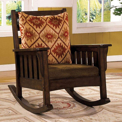 Morrisville Traditional Accent Chair, Dark Oak By Casagear Home