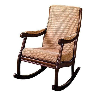Liverpool Rocking Chair, Antique Oak By Casagear Home