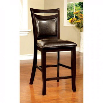 Woodside II Transitional Counter Height Chair, Set Of 2-CM3024PC-2PK By Casagear Home