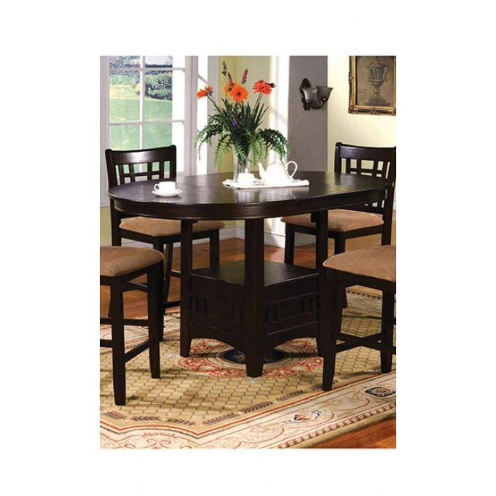 Oval Counter Height Table Traditional