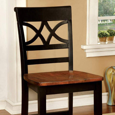 Torrington II Cottage Counter Height Chair With Wooden Seat, Set Of 2 By Casagear Home