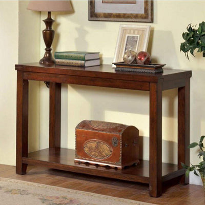 Estell Transitional Sofa Table By Casagear Home