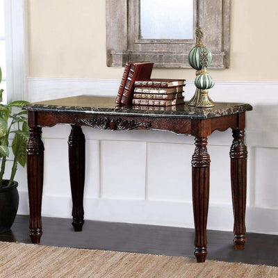 Brampton Traditional Style Sofa Table By Casagear Home