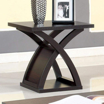 Arkley Contemporary Style End Table By Casagear Home