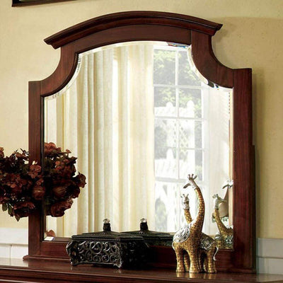 Gabrielle Ii European Style Cherry Finish Mirror By Casagear Home