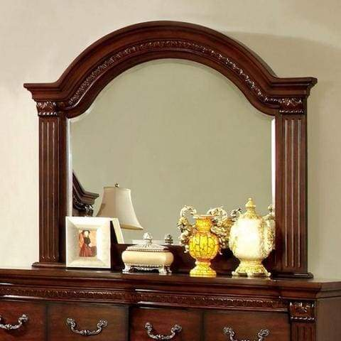 Grandom Traditional Style Mirror , Cherry
