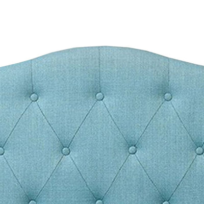 Alipaz Contemporary Twin Size Headboard Blue FOA-CM7989BL-HB-T