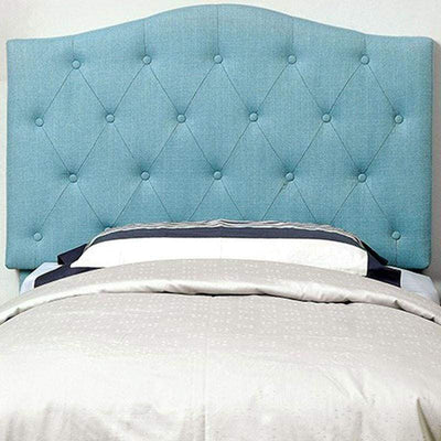 Alipaz Contemporary Twin Size Headboard, Blue By Casagear Home