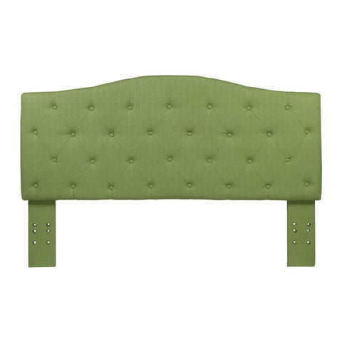 Mid-Back Green Vinyl Chair