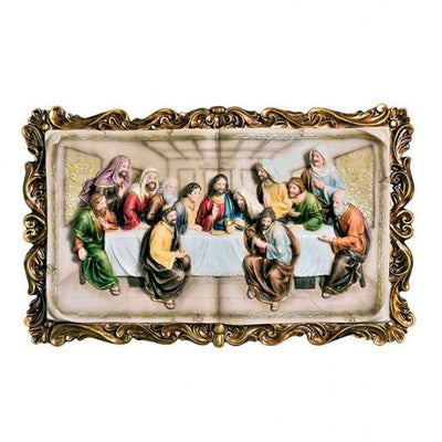 Homili Novelty Last Supper Plaque, Multicolor By Casagear Home