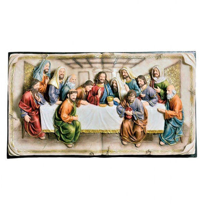 Homili Novelty Last Supper Plaque By Casagear Home