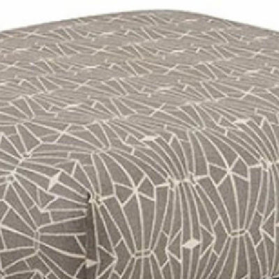 Parker Contemporary Ottoman Triangle Pattern FOA-SM8563-OT-EC