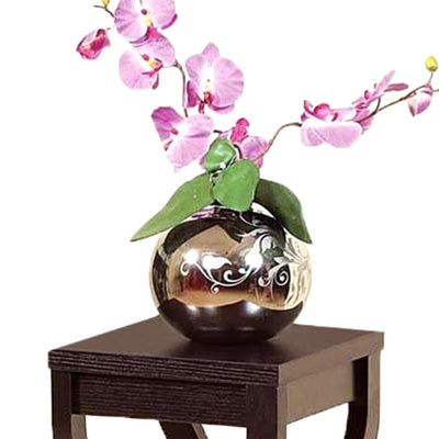 Elegant Design Small Size Plant Stand Dark Brown IDF-14850