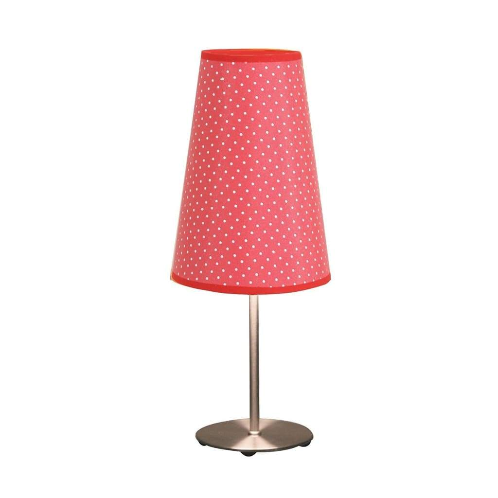 15.25 Inch Accent Red Dot Lamp