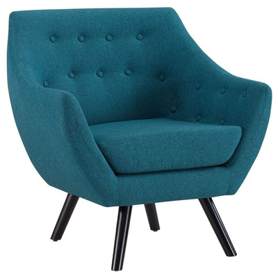 Allegory Armchair In Teal Blue