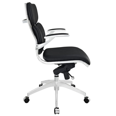 Escape Mid Back Office Chair Black MDY-EEI-1028-BLK