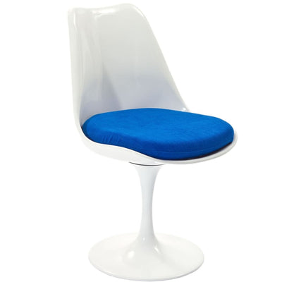 Lippa Dining Fabric Side Chair Blue MDY-EEI-115-BLU