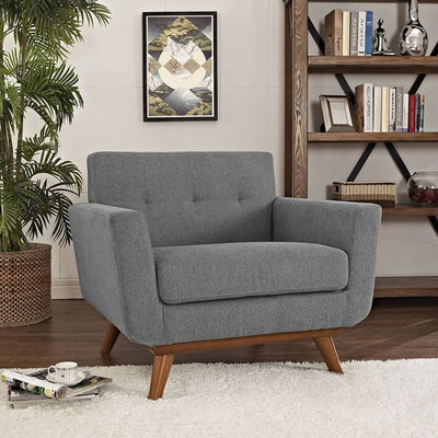Engage Upholstered Armchair Expectation Gray MDY-EEI-1178-GRY