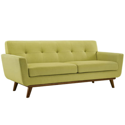 Engage Upholstered Loveseat Wheatgrass MDY-EEI-1179-WHE