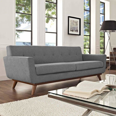 Engage Upholstered Sofa Expectation Gray
