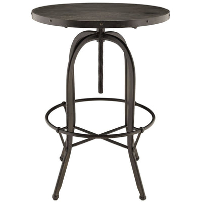 Sylvan Wood Top Bar Table Black MDY-EEI-1200-BLK