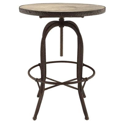 Sylvan Wood Top Bar Table Brown MDY-EEI-1200-BRN