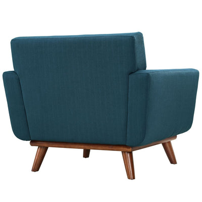 Azure Engage Armchair Wood Set of 2 MDY-EEI-1284-AZU
