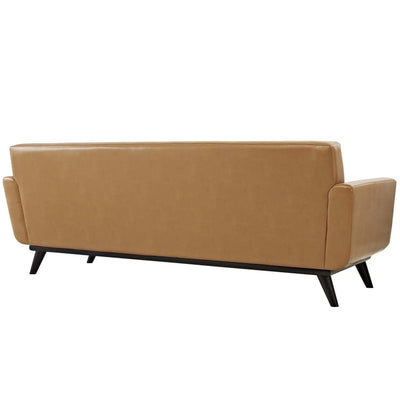 Engage Bonded Leather Sofa Tan MDY-EEI-1338-TAN