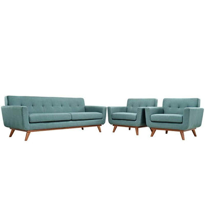Engage Armchairs and Sofa Set of 3, Laguna