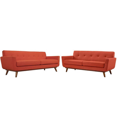 Engage Loveseat and Sofa Set of 2 By Modway MDY-EEI-1348-DOR