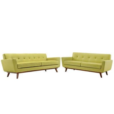 Engage Loveseat and Sofa Set of 2 By Modway MDY-EEI-1348-WHE