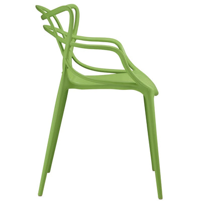 Green Entangled Dining Armchair MDY-EEI-1458-GRN