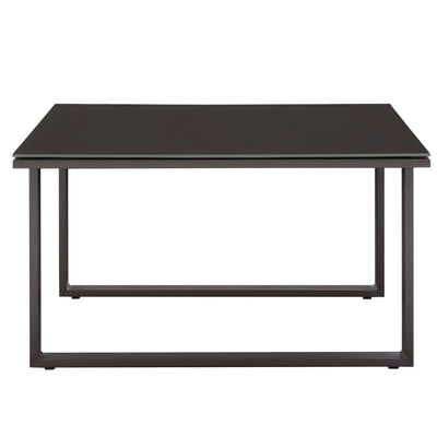 Fortuna Outdoor Patio Side Table Brown MDY-EEI-1515-BRN-SET