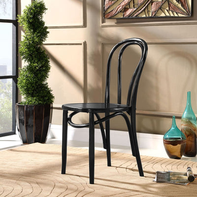 Eon Dining Side Chair Black