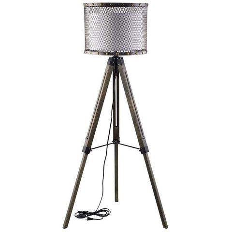 Stylish Hargrove Black Floor Lamp