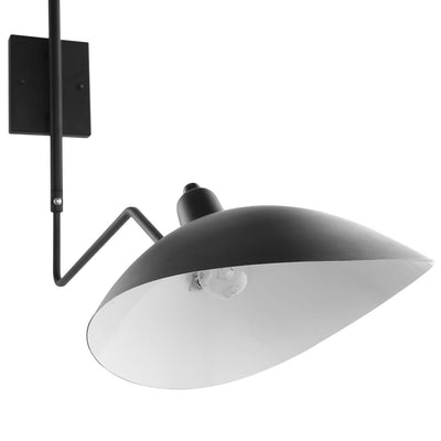 Black View Double Fixture Wall Lamp MDY-EEI-1590