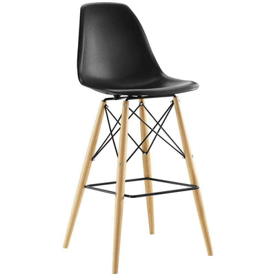 Black Pyramid Bar Stool