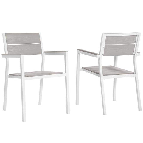 4D Concepts Classy Double Chair with Elegant Cutout Pattern