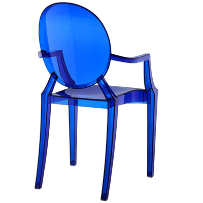 Casper Dining Armchairs Set of 4 Blue MDY-EEI-1769-BLU